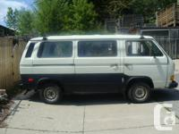 1991 VW Vanagon for sale. Vehicle is originally from