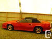 Make Chevrolet Model Camaro Year 1991 Colour Red kms