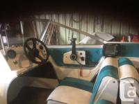 1992 15' Glascon boat with 1995 90 HP Johnson motor and