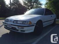 Hi there I have for sale a white 1992 acura integra for