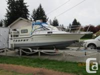 24 ft Trophy fishing machine. 24 hours on new 2017 ,