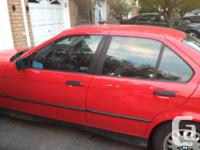 Make BMW Model 325i Year 1992 Colour Red kms 303000