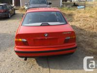 Make BMW Model 318 Year 1992 Colour RED kms 195000