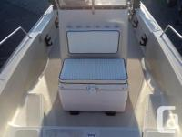 This 1992 Boston Whaler 17� Outrage is in excellent