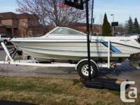 In Excellent Working Condition, this 18.1' Power Boat