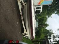 1992 Chaparral with Cuddy Cabin + trailer. Full camper