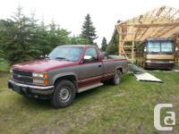 Make Chevrolet Year 1992 Colour Burgundy kms 260400