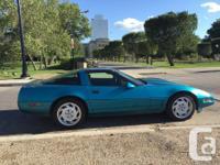 Make Chevrolet Model Corvette Colour Teal Trans Manual