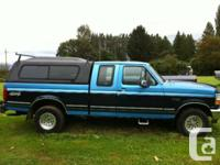 1992 Ford F-150 4x4 extended cab short box for parts.