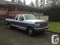1992 F250 Ext cab 4x4 very nice shape for the year two