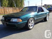 1992 FORD MUSTANG 5.0 LITRE, MANUAL TRANSMISSION, LOCAL