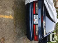 Make Ford Year 1992 Colour Midnight Blue Trans Manual