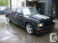 1992 GMC Sonoma Pickup  Extra Cab, Modified, With,