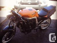 Selling a 92 gsxr 750 streetfighter. Ready to ride .