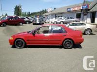 Make Honda Model Civic Sedan Year 1992 Colour Red kms