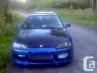 Make. Honda. Design. Civic Coupe. Year. 1992. Colour.