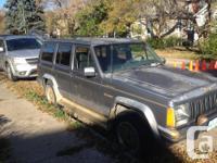 Make Jeep Model Cherokee Year 1992 Colour Grey/silver