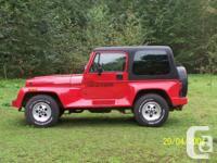 1992 Jeep Renegade YJ Wrangler 4L 6 cyl 4x4, Brand new