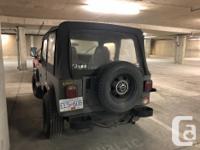 Make Jeep Year 1992 Trans Manual kms 264868 Perfect