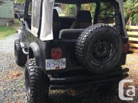 Make Jeep 1991 jeep yj 4 cylinder 300,000 kms 6 inch