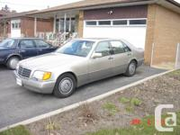 Used, Nice Classic - S Class 500 -W140 body style,fully for sale  Ontario