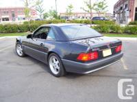 1992 Mercedes-Benz S-Class Black Pearl 500 SL