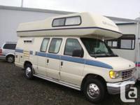 1992 Okanagan Conversion Van 5.8 Ford sleep 4 ,Hotwater