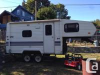 1992 Prowler - 18.5 ft 5th Wheel. Includes New Tires,