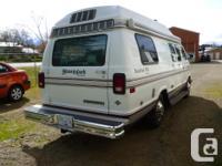 Lovely, clean, well cared for campervan. Dodge 318 3spd