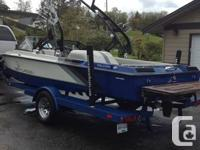 Ski centurion, great boat for skiing, wake boarding and