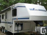 Well cared for fully equipped  23' 5th Wheel. 3 Large