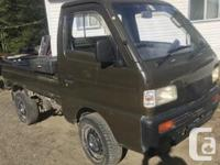 Make Suzuki Colour Green Trans Manual Selling a 1992