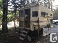"1992 Travel Mate 'import' size camper 7'6"", fits nicely"