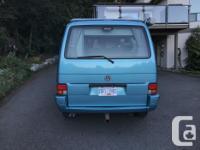 1992 Eurovan CV for sale. It is a lovely Malibu Blue
