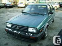 1992 Volkswagen Jetta GL Small, light Jetta from the