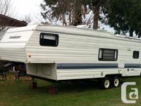 Quite nice trailer yet roof covering leaks. Been kept