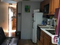 New floor, double over double bunk, full washroom, 30