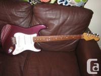 1993 Fender Stratocaster / U.S.A / Semi-rare metallic