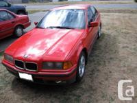1993 BMW 320I 5speed manual inline 6cylinder engine