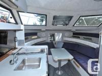 1993 Campion 250 Victoria, cabin cruiser. LOA 25 ft