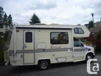 "1993 Corsair ""Excella"" 19 ft mini mobile home Lesson"