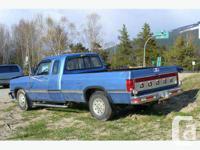 Fauquier, BC 1993 Dodge Pickup Ext Cab Cummins Turbo