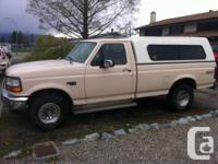 93 F150 4X4, Rebuilt 302 V8, Automatic. 4wheel drive