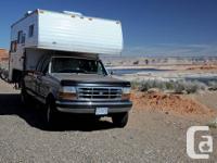 CAMPER / RV: Largest truck camper I have ever seen: