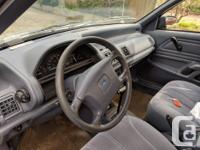 Make Ford Model Tempo Year 1993 Colour grey kms 86900