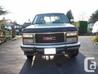 Make. GMC. Model. Sierra 1500. Year. 1993. Colour.