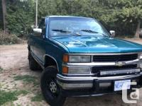 Make GMC Year 1993 Colour Teal Trans Automatic kms