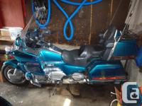 1993 Hinda Goldwing GL1500SE for sale. It was my dad's