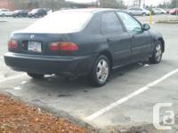 Make Honda Colour Black Trans Automatic kms 240000 1993