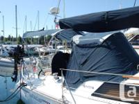 The Hunter Legend 35.5 is a fine sailing package,